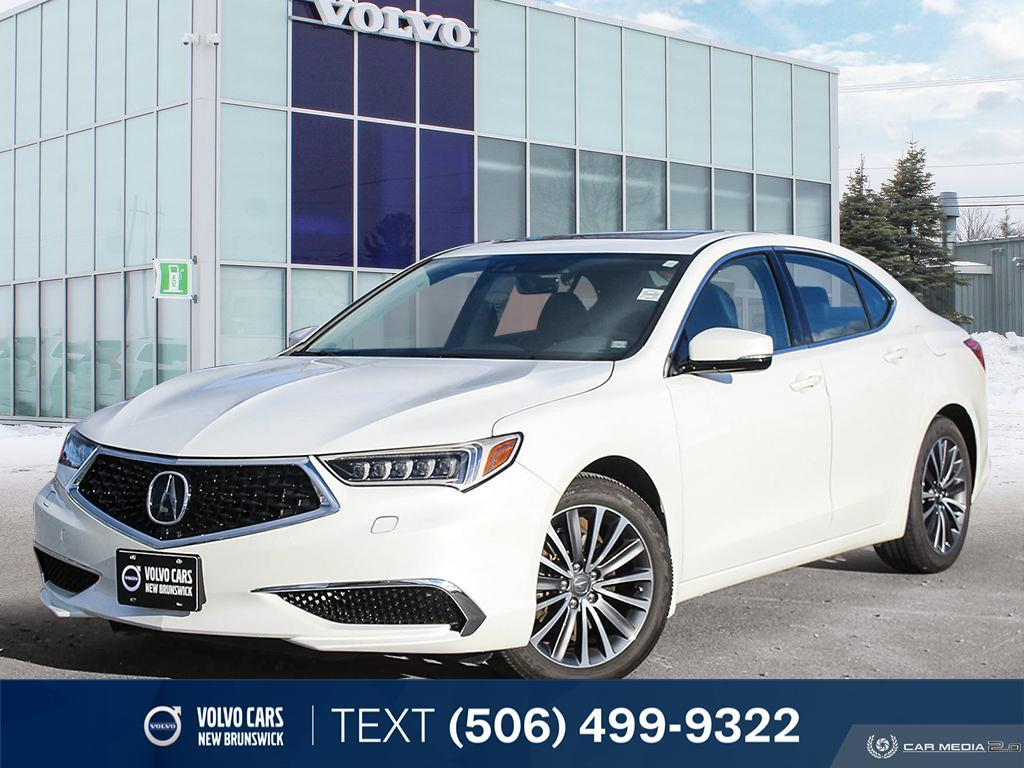 Certified Pre-Owned 2018 Acura TLX Tech