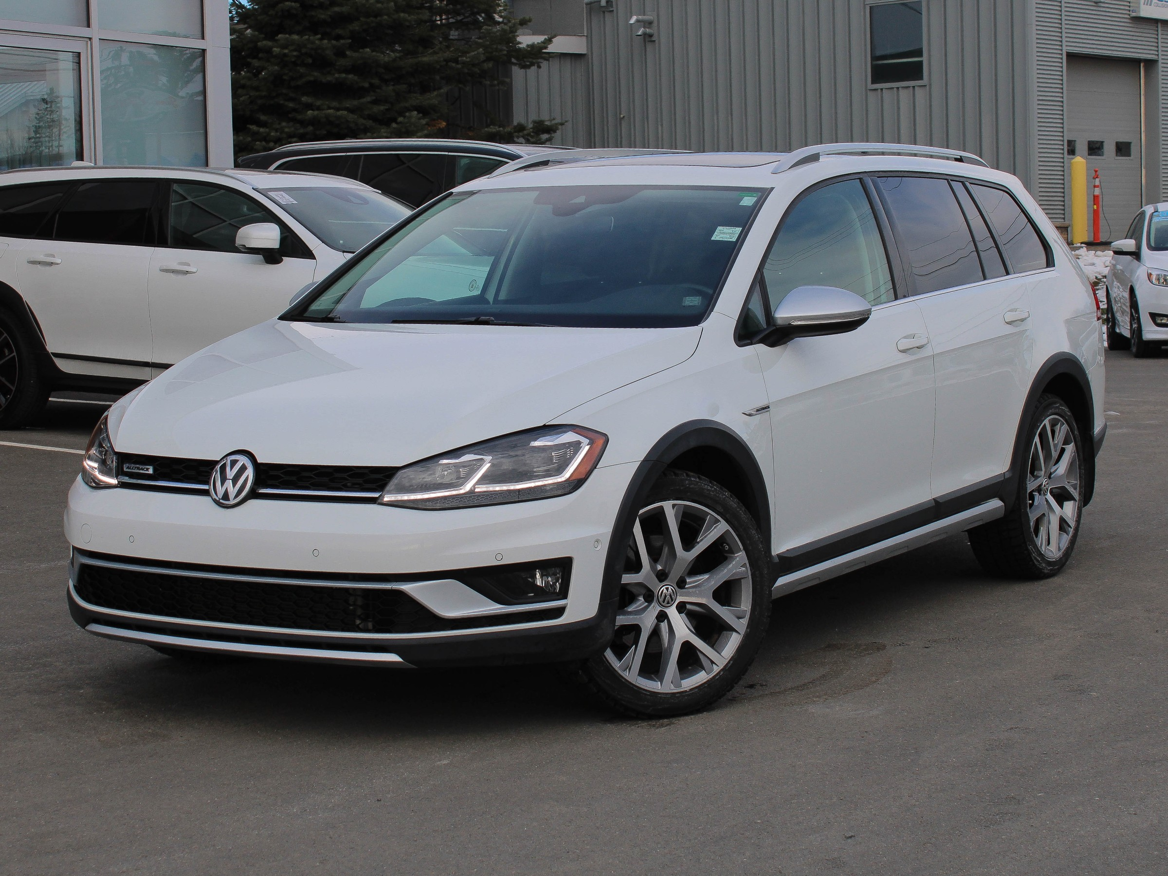 Certified Pre-Owned 2018 Volkswagen Golf Alltrack 1.8 TSI