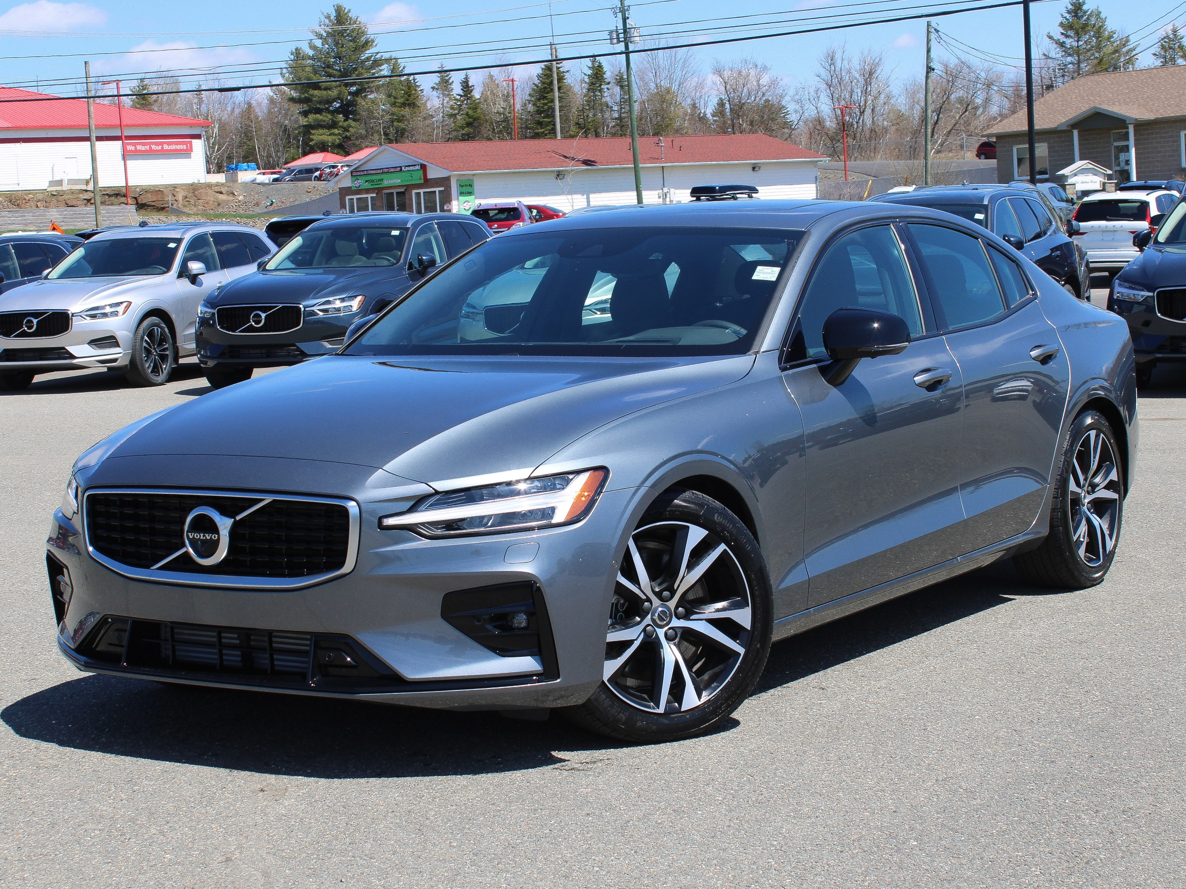 New 2020 Volvo S60 T6 R-Design Intermediate Luxury in ...