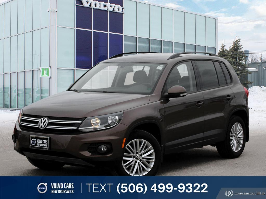 Certified Pre-Owned 2015 Volkswagen Tiguan Special Edition