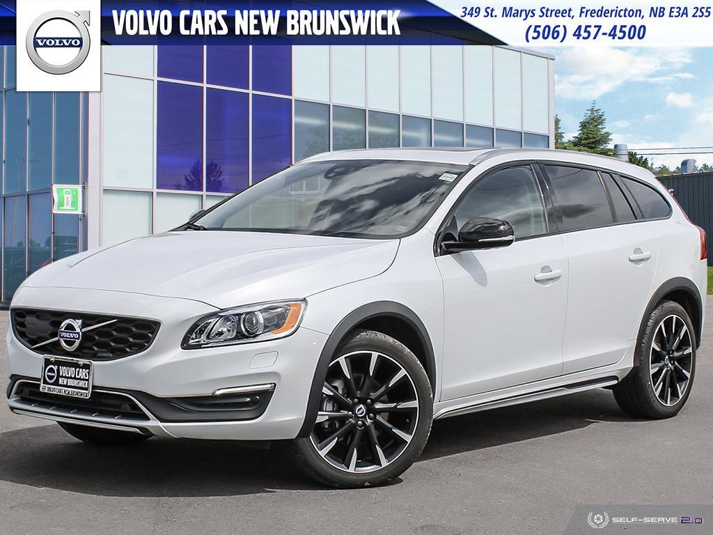 Volvo Certified Pre-Owned >> Certified Pre Owned 2018 Volvo V60 Cross Country T5 Premier