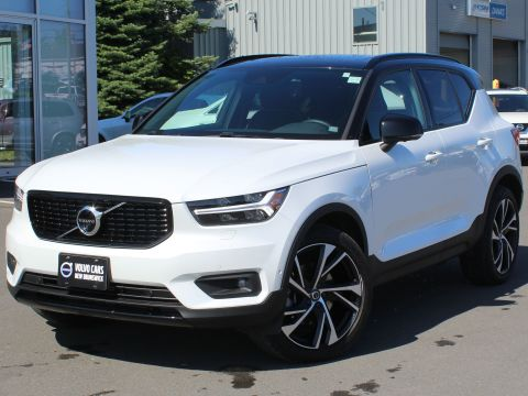 Certified Pre-Owned 2019 Volvo XC40 T5 R-Design
